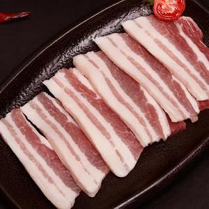优膳房蛋白桑好猪肉五花肉丝/肉片  1kg