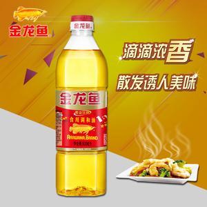 金龙鱼食用调和油900ml